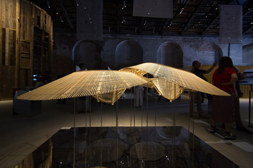 China Pavilion exhibition 2018 Venice Architecture Biennale Archi-Union Architects In Bamboo 2 Inexhibit