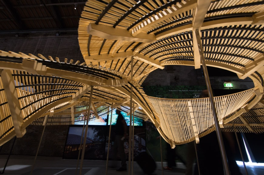 China Pavilion exhibition 2018 Venice Architecture Biennale Archi-Union Architects In Bamboo 3 Inexhibit