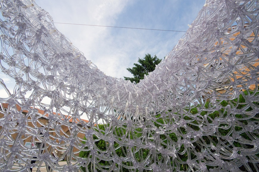 Cloud Village 3D printed pavilion Archi-Union Architects China exhibition 2018 Venice Architecture Biennale 12 Inexhibit