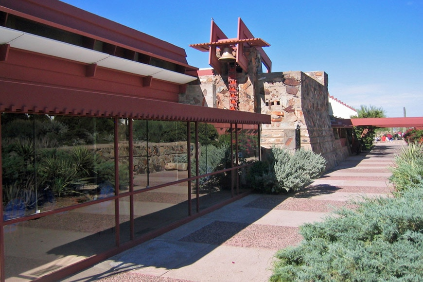 Frank Lloyd Wright Taliesin West Dining Room