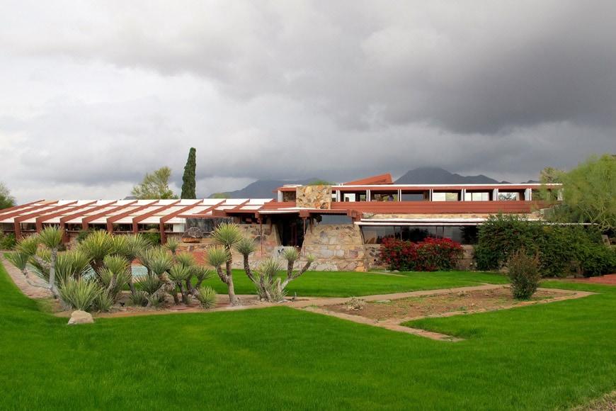 Frank Lloyd Wright Taliesin West Scottsdale Arizona 08