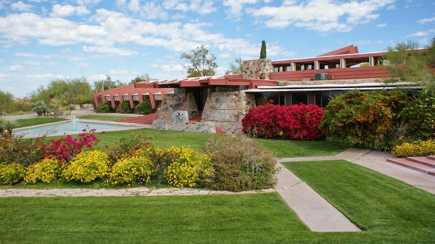 Frank Lloyd Wright Taliesin West Scottsdale Arizona 11