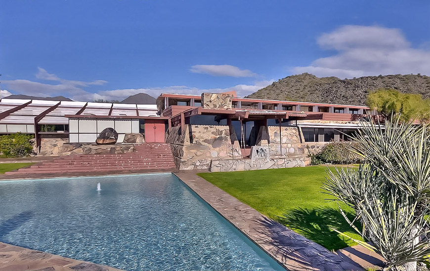 Frank Lloyd Wright Taliesin West Scottsdale Arizona 9