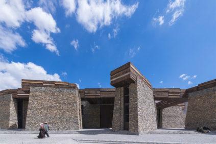 Centro Visitatori di Jianamani Padiglione della Cina Biennale di Venezia Architettura 2018 2
