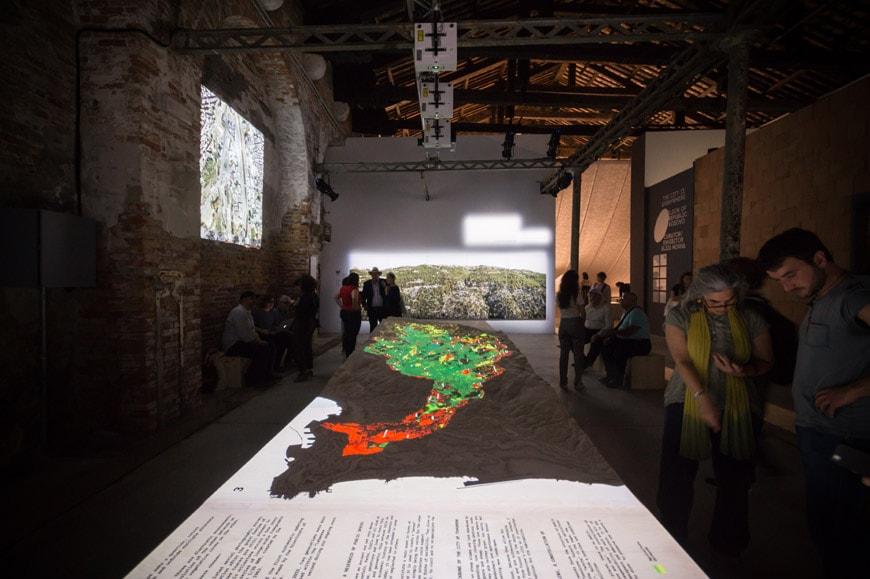 Lebanon pavilion 2018 Venice Architecture Biennale 1 Inexhibit