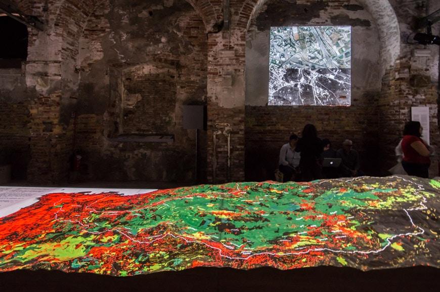 Lebanon pavilion 2018 Venice Architecture Biennale 2 Inexhibit
