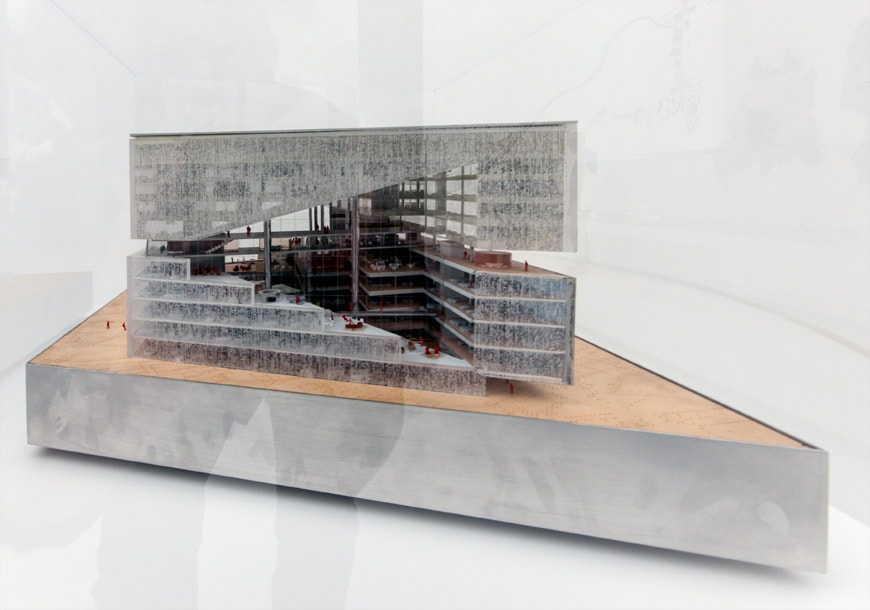 OMA-Rem-Koolhaas-Axel-Springer-Campus-Berlin-model-German-Pavilion-2018-Venice-Architecture-Biennale