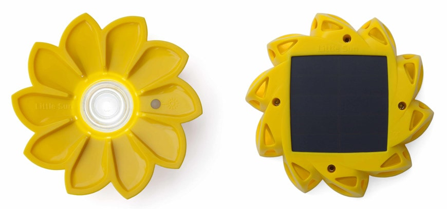 Olafur Eliasson Little Sun sustainable photovoltaic portable lamp 2