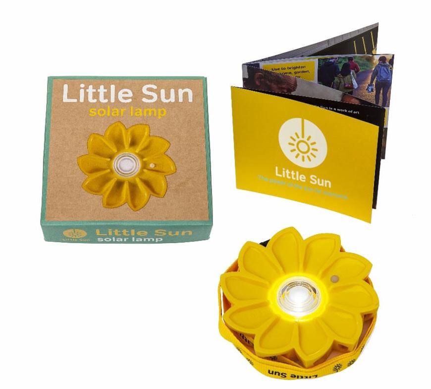 Olafur Eliasson Little Sun sustainable photovoltaic portable lamp 4