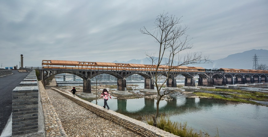 Shimen Bridge DnA Architects China Pavilion Biennale Venezia Architettura 2018