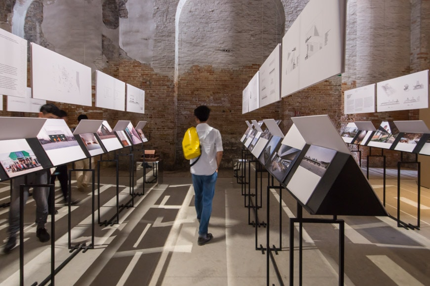 The China Pavilion exhibition at the 2018 Venice Architecture Biennale Inexhibit