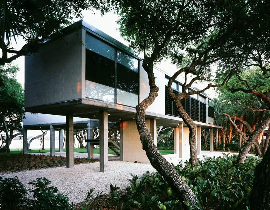 Toshiko Mori House on the Gulf of Mexico, Casey Key, Florida