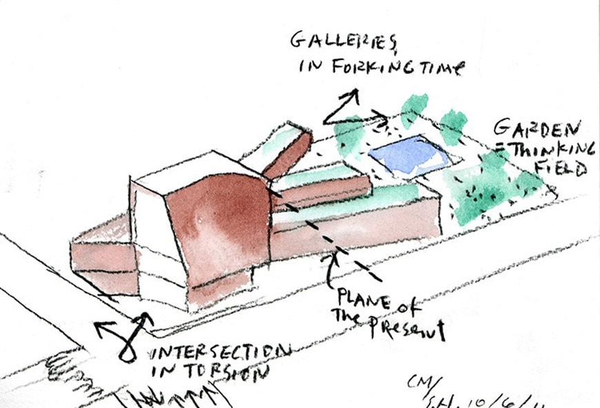 VCU Institute for Contemporary Art Richmond Virginia Steven Holl sketch