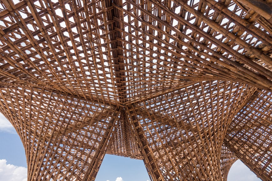 Vo Trong Nghia Bamboo Stalactite pavilion 2018 Venice Architecture Biennale Inexhibit 4