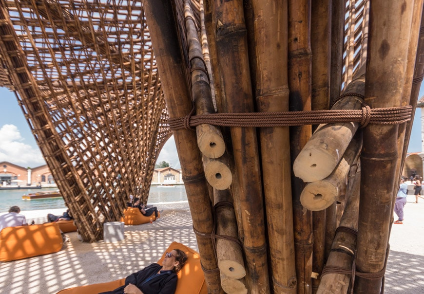 Vo Trong Nghia Bamboo Stalactite pavilion 2018 Venice Architecture Biennale Inexhibit 5