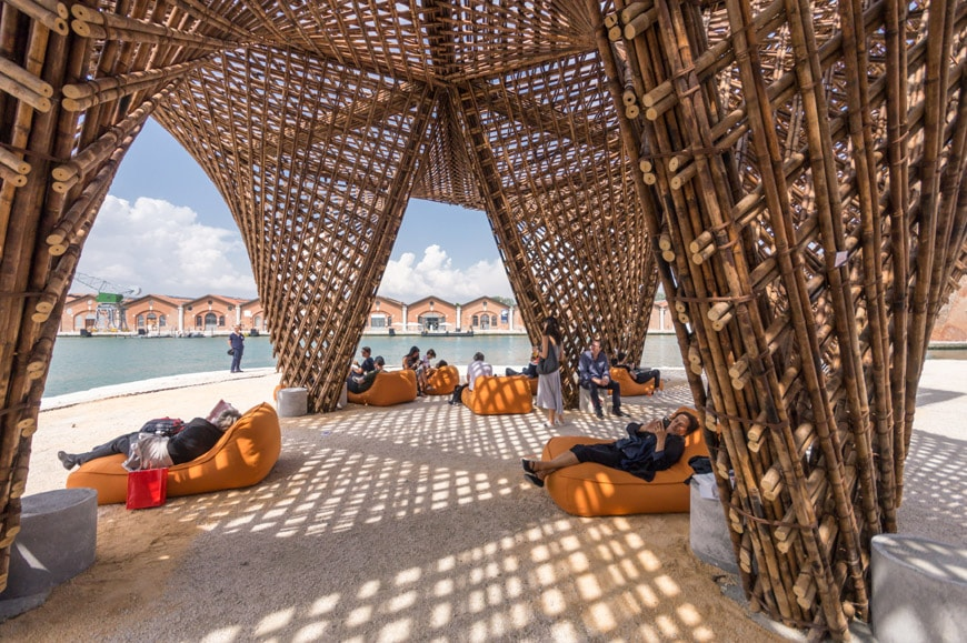 Vo Trong Nghia Bamboo Stalactite pavilion 2018 Venice Architecture Biennale Inexhibit 7