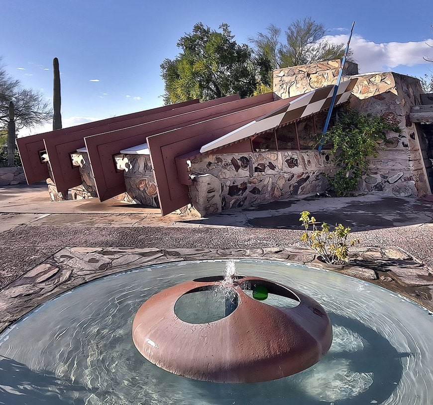 Wright Office Taliesin West Scottsdale Arizona 2