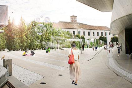 Roma | l'oasi selvaggia di Studio D3R vince YAP Rome at MAXXI 2018