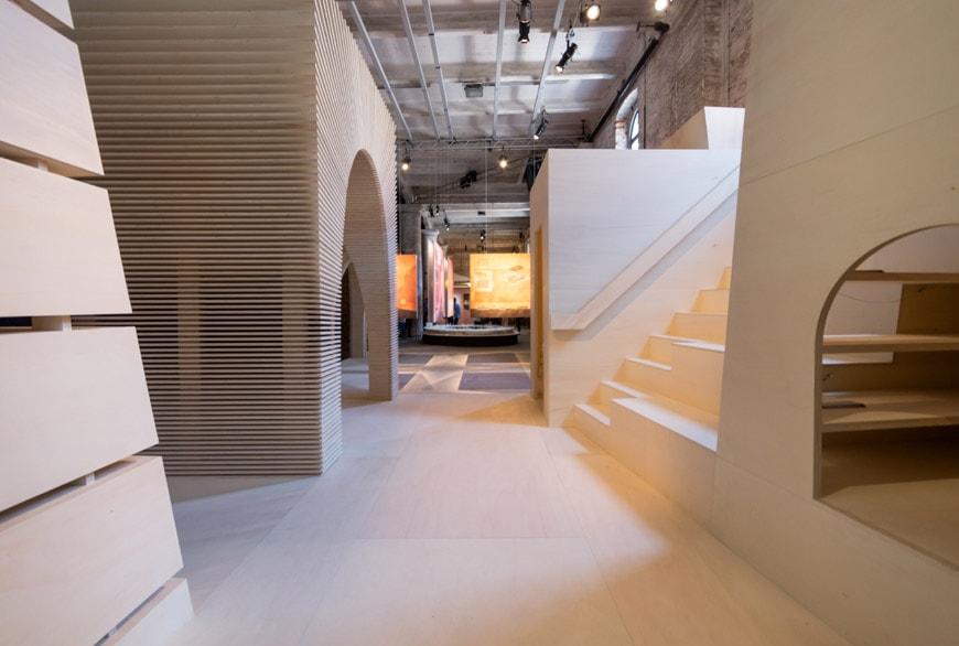 Alison Brooks Architects ReCast installation Arsenale 2018 Venice Architecture Biennale 3 Inexhibit