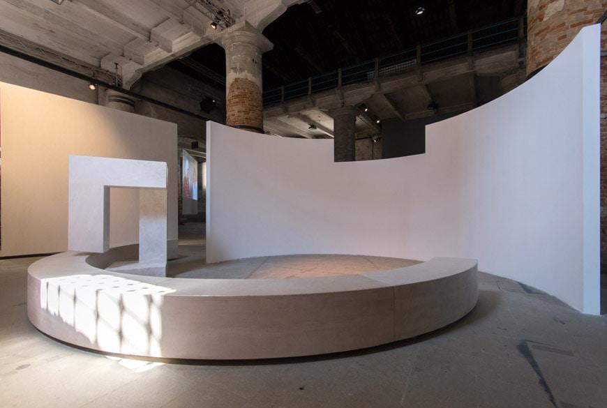 Alvaro Siza Evasao installation Arsenale exhibition 2018 Venice Architecture Biennale Inexhibit