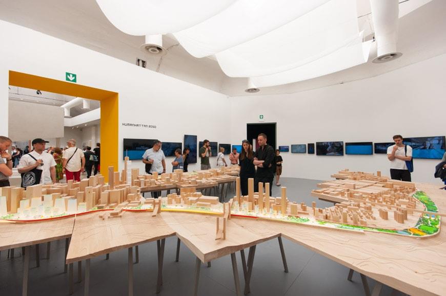 IG-Bjarke-Ingels-Group-installazione Biennale di Architettura di Venezia 2018