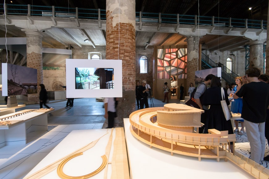 DNA - Design and Architecture the songyang story Arsenale 2018 Venice Architecture Biennale 2 Inexhibit