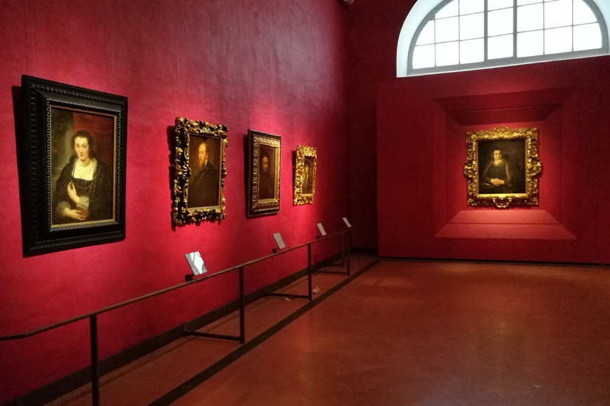 Florence-Uffizi-Gallery-new-rooms-Rembrandt-Rubens