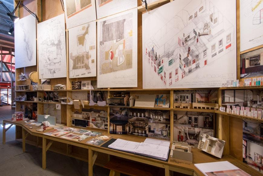 Flores & Prats Sala Beckett Barcelona Arsenale 2018 Venice Architecture Biennale 1 Inexhibit