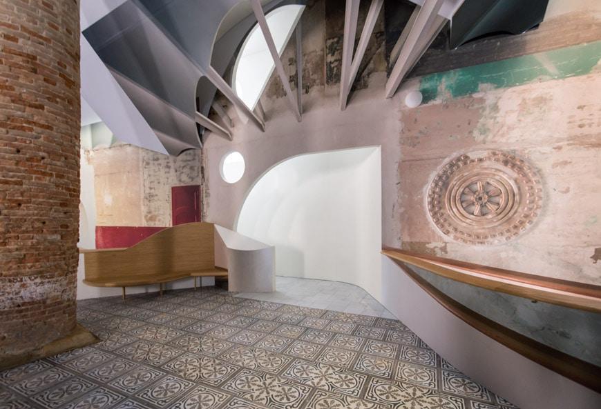 Flores & Prats Sala Beckett Barcelona Arsenale 2018 Venice Architecture Biennale 2 Inexhibit