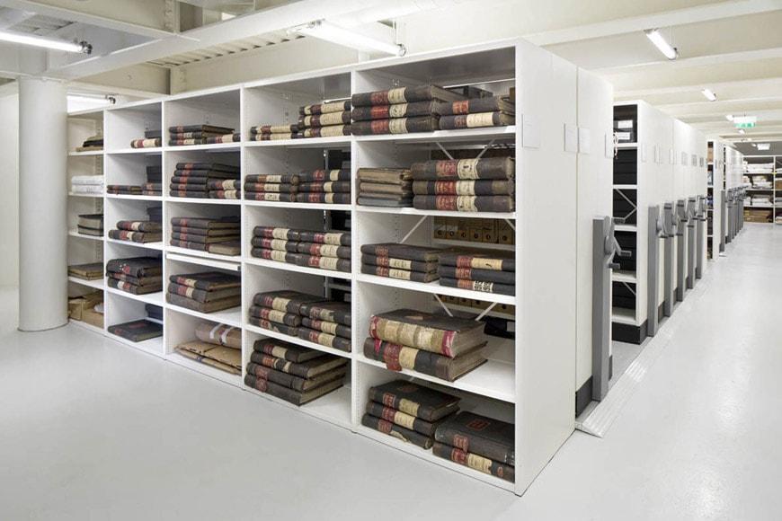 Fondation Jérôme Seydoux-Pathé Paris Renzo Piano collection storage space 2