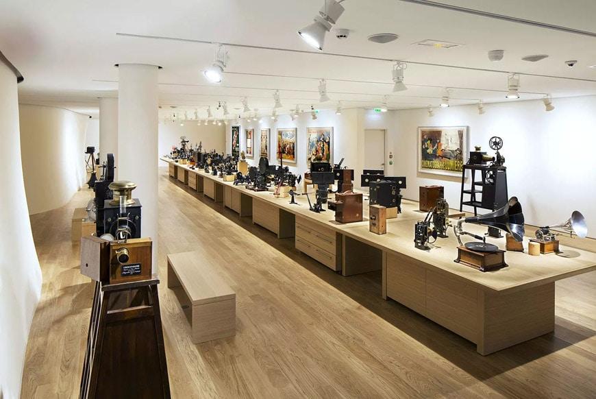 Fondation Jérôme Seydoux-Pathé Paris Renzo Piano permanent exhibition 2