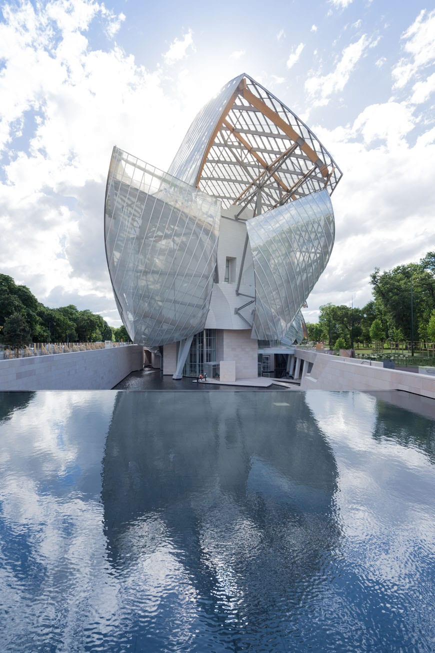 Fondation Louis Vuitton Paris Frank Gehry exterior 05