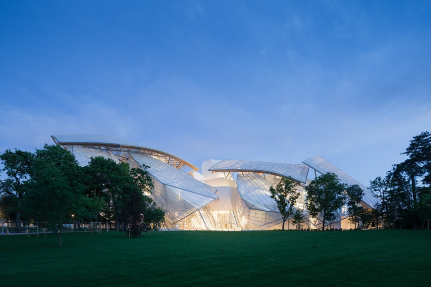 Fondation Louis Vuitton Paris Frank Gehry exterior 06