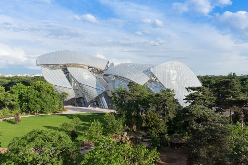 Fondation Louis Vuitton Paris Frank Gehry exterior 07