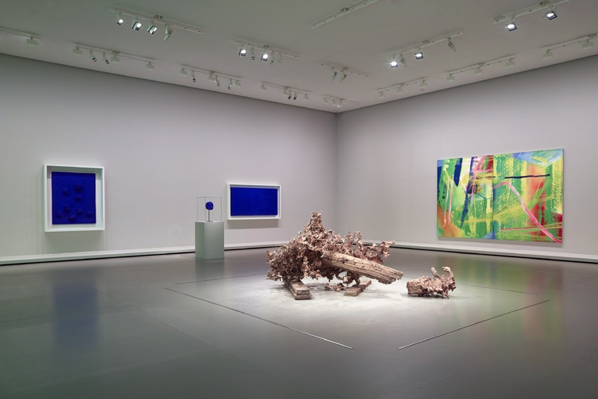 Fondation Louis Vuitton Paris Matthew Barney Yves Klein Gerhard Richter