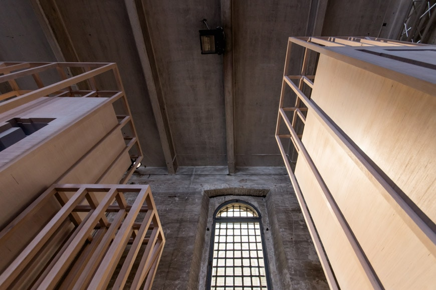 Hall McKnight installation Arsenale 2018 Venice Architecture Biennale Inexhibit