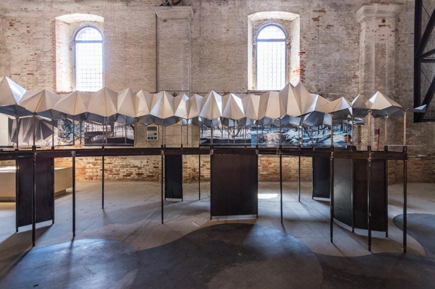 Jensen & Scodvin Moya Spring Water Source Roof Arsenale 2018 Venice Architecture Biennale 1 Inexhibit