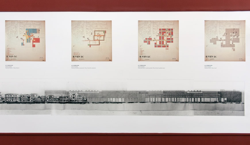 Le-Corbusier-installazione Biennale di Architettura di Venezia 2018