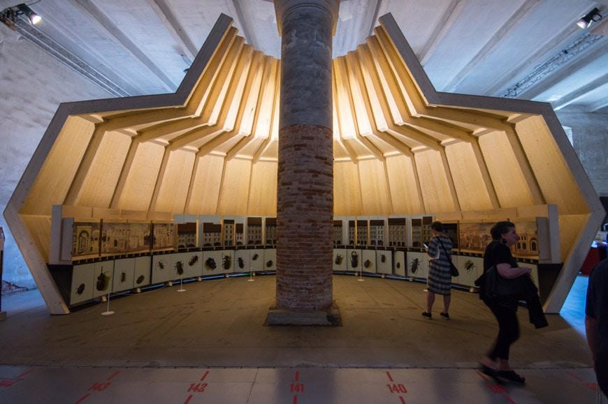 Mario Botta installation Arsenale 2018 Venice Architecture Biennale 1 Inexhibit