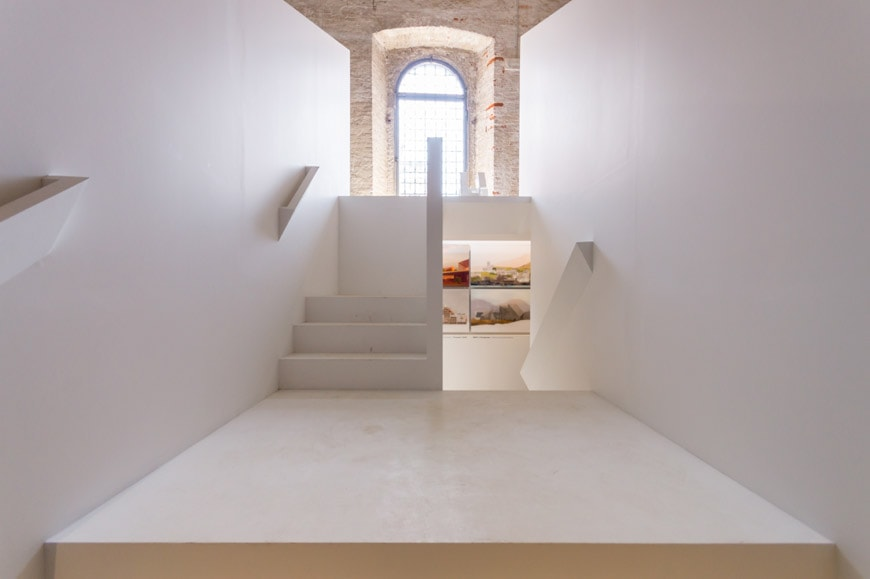 O'Donnell Tuomey installation Arsenale 2018 Venice Architecture Biennale Inexhibit