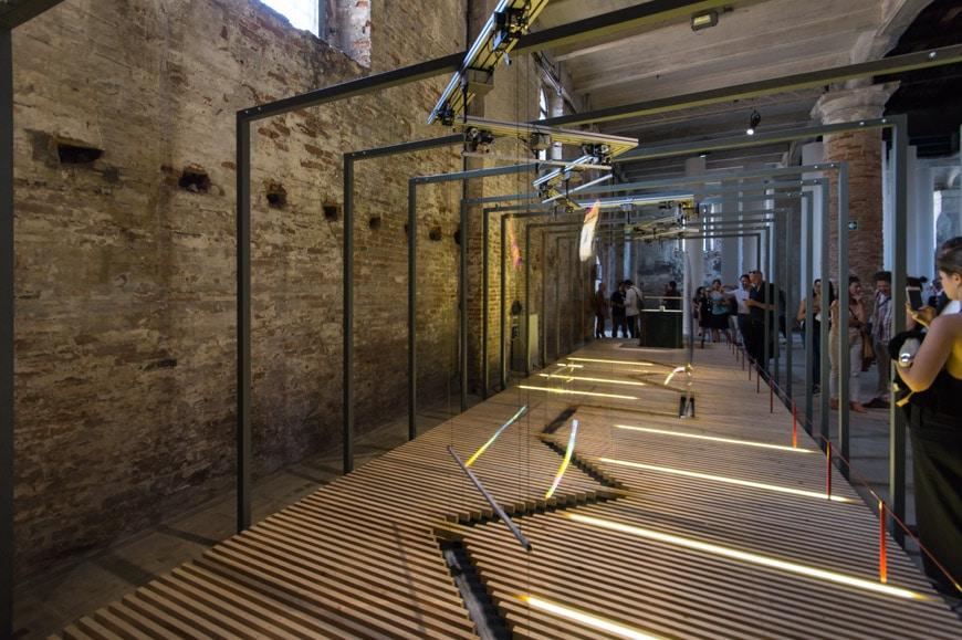 Riccardo Blumer installation Arsenale 2018 Venice Architecture Biennale Inexhibit