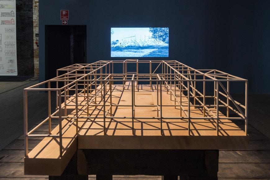 Rintala Eggertsson Corte del Forte model Arsenale 2018 Venice Architecture Biennale Inexhibit 2