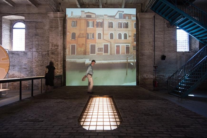Rozana Montiel Stand Ground installation Arsenale 2018 Venice Architecture Biennale Inexhibit