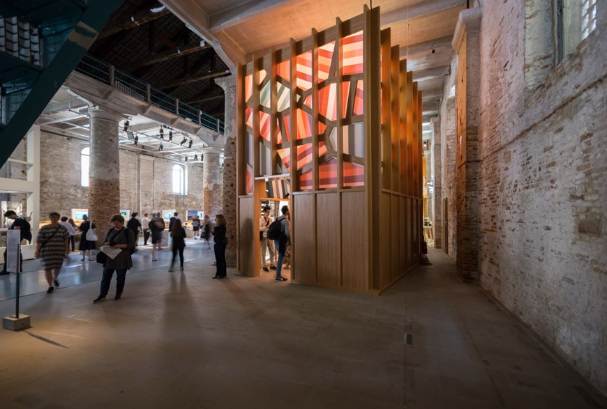 Exhibition Stand Water Features : Core exhibition at arsenale venice architecture biennale