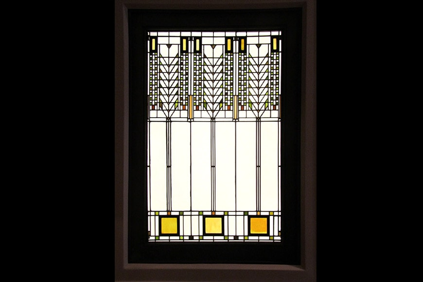 Tree of Life glass window Darwin Martin House Frank Lloyd Wright Buffalo NY
