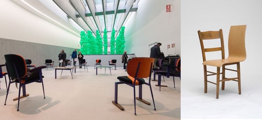 Upcycling-Martino-Gamper-Maxxi-Rome-transformers-c-Inexhibit-2015-and-100-chairs
