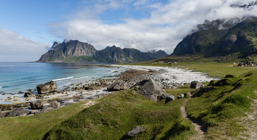 Eggum panoramic site Lofoten Norway