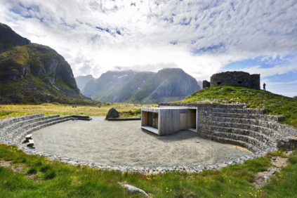 Eggum panoramic site, Vestvågøy, Lofoten, Norway – architect: Snøhetta