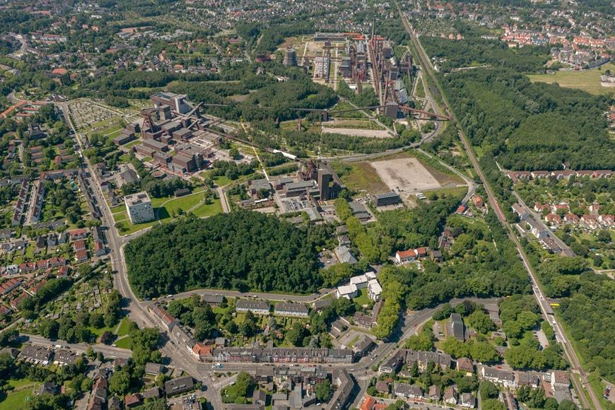Public-Space-Prize-2018-CCCB-Essen-2012-hans-blossey-aerial-view-zollverein-park