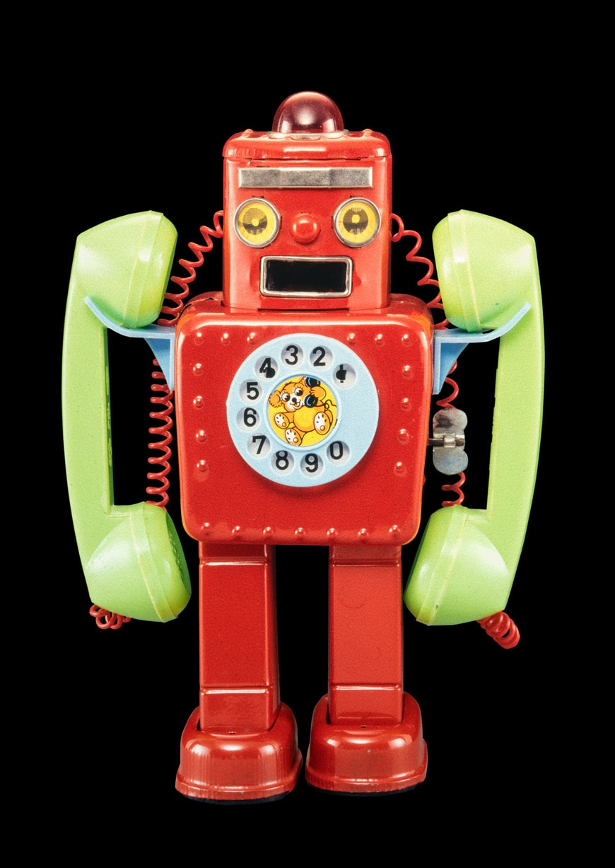 Vitra-black-box-09-Telephone-Robot-Yonezawa-Japan-c1963-24 cm-Rolf-Fehlbaum-Foto-Moritz-Herzog